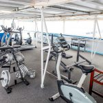 hotelschepen tijdelijke huisvesting gym